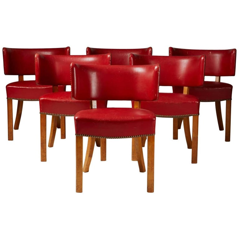 Set of Six Chairs, Anonymous, Denmark, 1950s