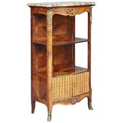 19th Century French Kingwood Bookcase or Cabinet