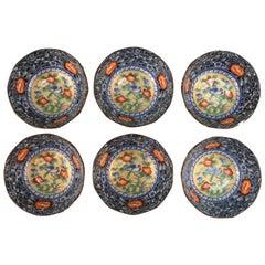 Set of Six Japanese Ceramic Bowls