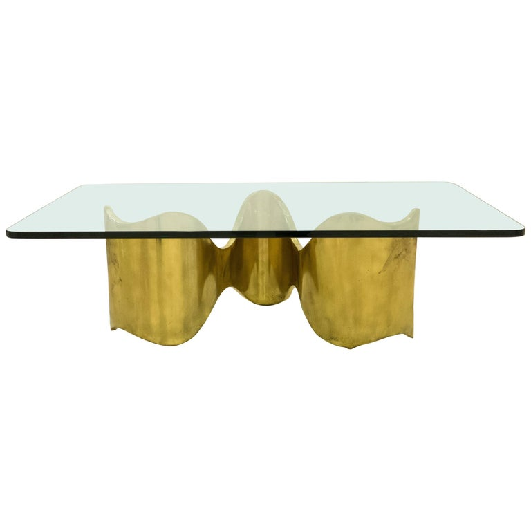 Silas Seandel Ribbon Cocktail Table For Sale At 1stdibs
