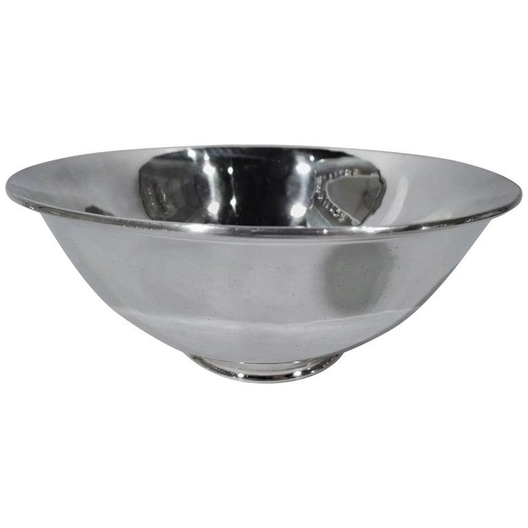 Arthur Stone Sterling Silver Craftsman Revere Bowl