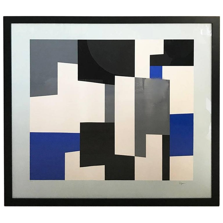 Yaacov Agam Signed and Numbered Lithograph