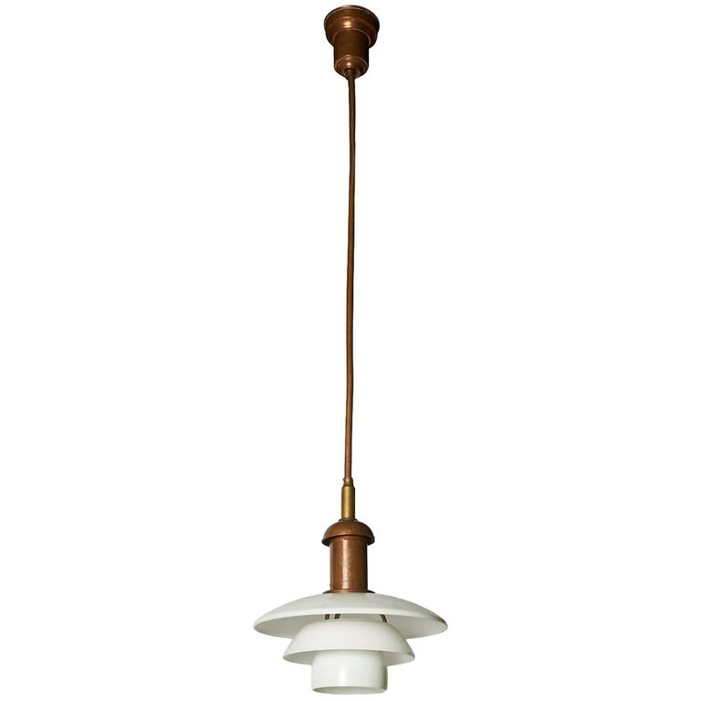 Copper Pendant by Poul Henningsen