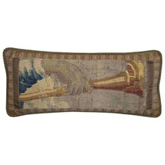 17th Century Flemish Tapestry Pillow