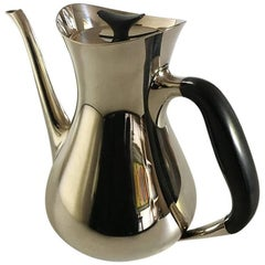 Cohr H.P. Jacobsen Coffee Pot in Sterling Silver