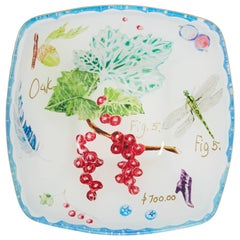 Cathy Graham Decoupage Square Bowl