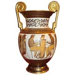 Johann Seltmann Classical Revival Style Porcelain Vase