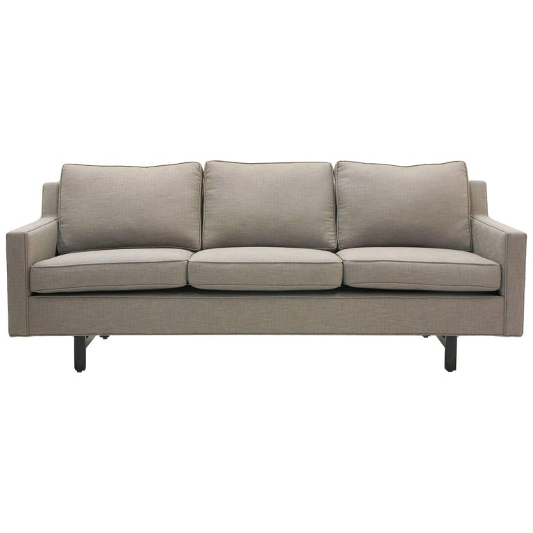Three-Seat Sofa by Edward Wormley for Dunbar, Fully Restored, Like New
