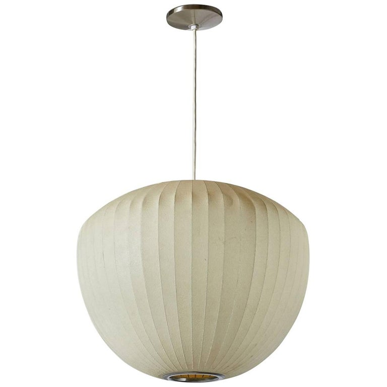 George Nelson Bubble Saucer Pendant Light At 1stdibs