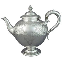 Victorian Sterling Silver Teapot