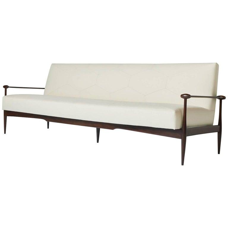 Sofa by Liceu de Arte e Officios For Sale