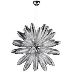 Italian Torpedo Glass Sputnik Chandelier