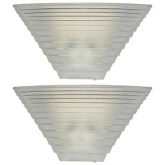 "Pair of Italian Model ""Pergamo 38"" Sconces by Angelo Mangiarotti for Artemide"