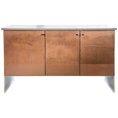 Copper Etch Credenza