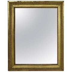 Late 18th Century, French Carved Giltwood Mirror