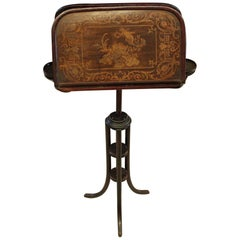19th Century Vienna, Thonet, Adjustable Duet Two-Sided Music Stand