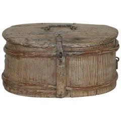 18th Century Swedish Bentwood Travel Box or Chest