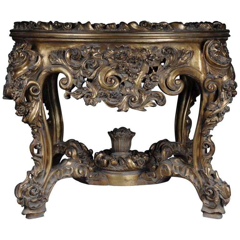 Impressive solid salon table louis quinze xv for sale at for Salon louis xv