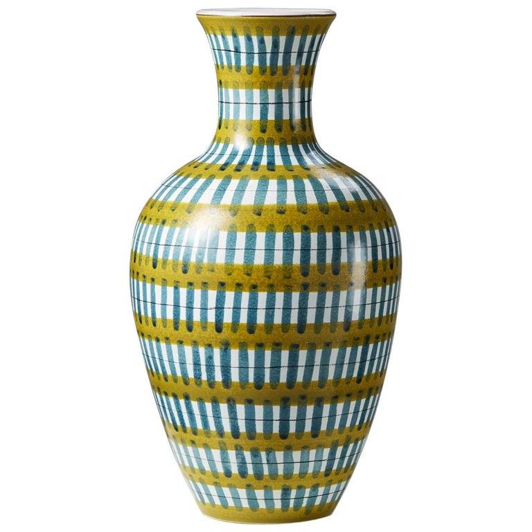 Vase Designed by Stig Lindberg, Sweden, 1950s