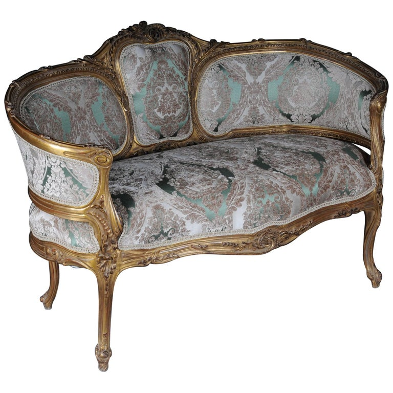 Le French Sofa Canapé In Louis Xv For