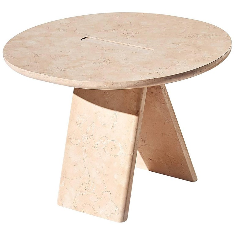Contemporary Lasta Coffee Table Or Side Table Table High In Pink