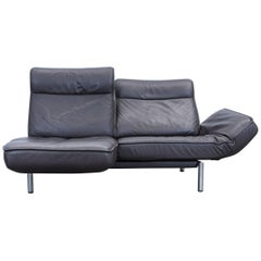 De Sede Ds 450 Designer Leather Sofa Brown Relax Function Two-Seat Modern