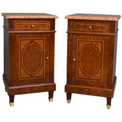 Pair of Antique Bedside Cabinets