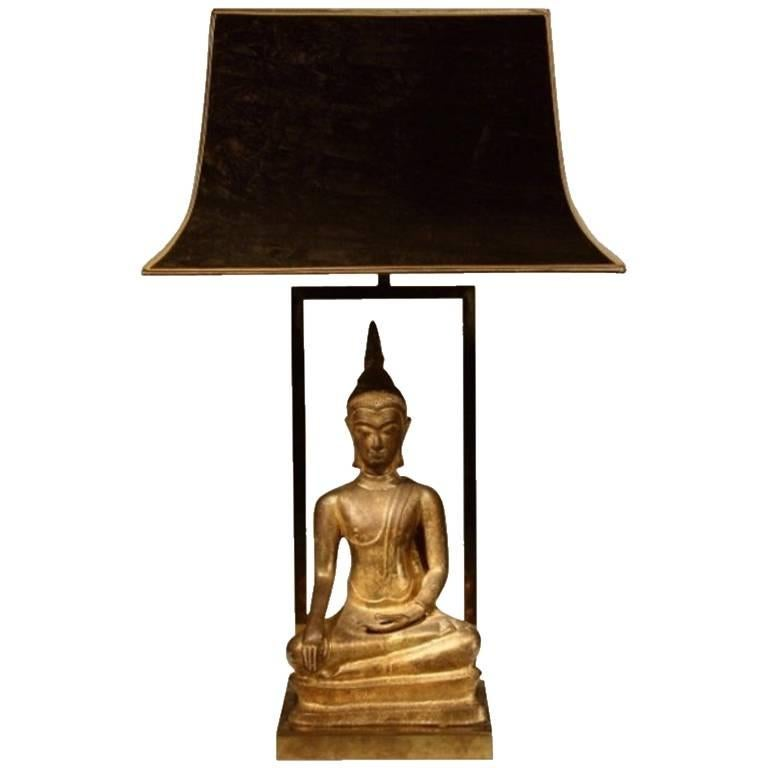 1960s Buddha Lamp For Sale
