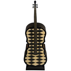 Curious Designer Chest of Drawers as Double Bass