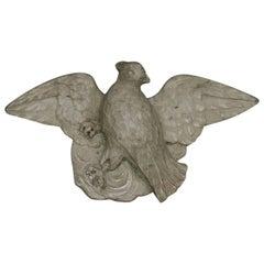 18th Century Italian Carved Marble Bird