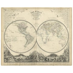 Antique And Vintage Maps For Sale At Stdibs - World map for sale