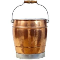 Arts & Crafts Copper Bucket