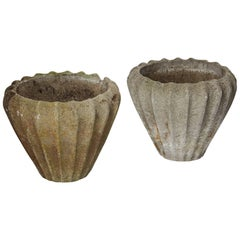 Pair of Flower Pots, Anonymous, Denmark, 1940s