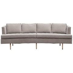 1950s Six-Leg Sofa by Edward Wormley for Dunbar, New Upholstery