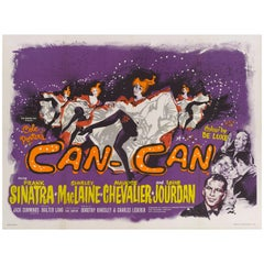 """Can-Can"" Original British Movie Poster"
