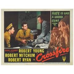 'Crossfire' Original US Lobby Card