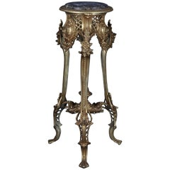 Magnificent French Bronze Side Table in Louis XV