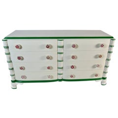 Dorothy Draper Eight-Drawer Dresser for the Greenbrier Resort, 1946