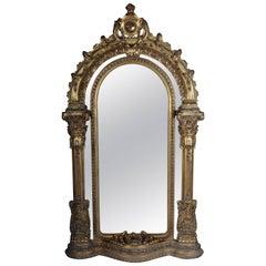 Gigantic Full-Length Mirror in Louis XVI