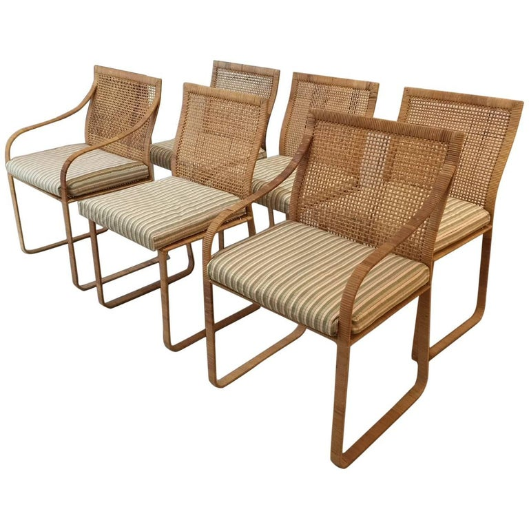 Set of Six Dining Chairs by Harvey Probber 1