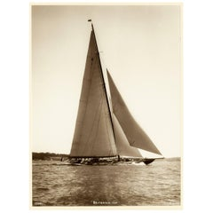 K1 HRH Yacht Britannia, Early Silver Gelatin Photographic Print