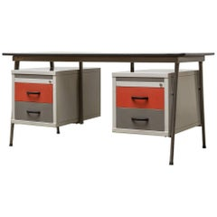 1950s Bauhaus Inspired Industrial Drentea Office Desk