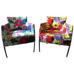 Pair of Chairs from the Versace Showroom, 1990s