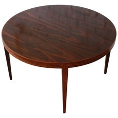 Severin Hansen for Haslev Møbelsnedkeri Danish Modern Rosewood Coffee Table