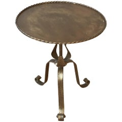 Large Spanish Gilt Drinks Table
