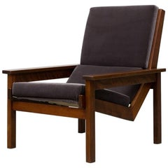 Robert Parry 'Lotus' Chair in African Walnut