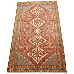 Persian Ghashghaei Tribal Area Rug, circa 1930