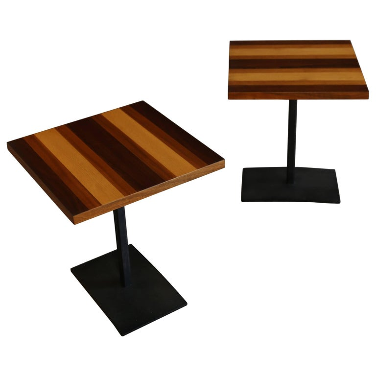 Pair of Occasional Tables by Milo Baughman for Thayer Coggin 1