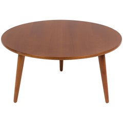 Hans Wegner Three-Legged Teak Coffee Table for Andreas Tuck