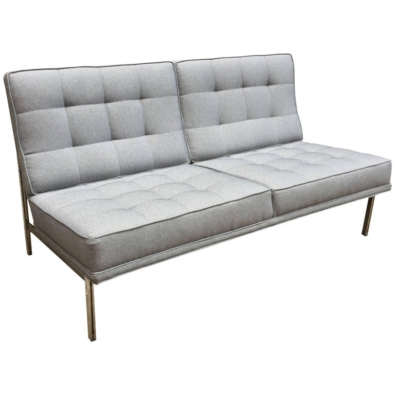 Florence Knoll Parallel Bar System Settee